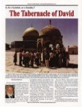 The Tabernacle of David - Symbol Or Reality? -   Prophecy In The News Magazine -  Aug 2005