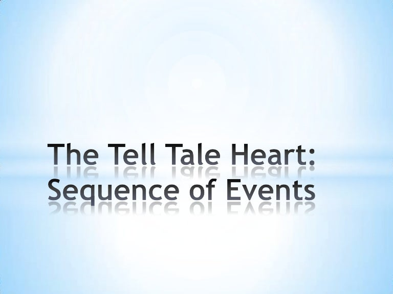 the tell tale heart analysis The guilt being triggered by the sound of the old man's beating heart or at least the narrator thinks he can hear the old man's heart beating if anything he is mentally paralyzed though we can't be certain it is also possible that the narrator is telling his story while in a prison or an asylum.