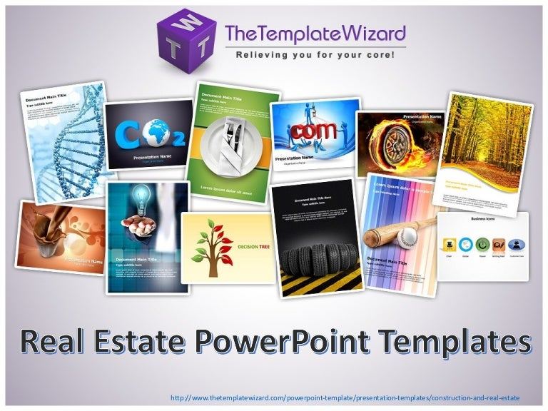 Construction Real Estate Powerpoint Template Real Estate Ppt Temp