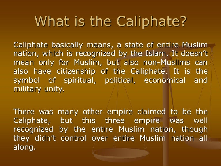 The Timeline Of Caliphate In History