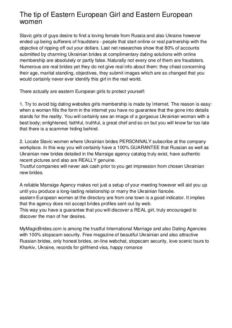 100 free eastern european dating site