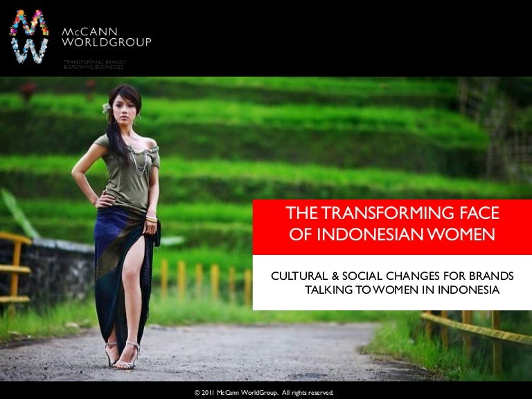 The Transforming Face Of Indonesian Women
