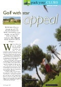 The Travel & Leisure Magazine Golf In Murcia, Spain. + Golf News