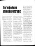 The trojan horse of oncology therapies