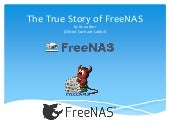 The True Story of FreeNAS