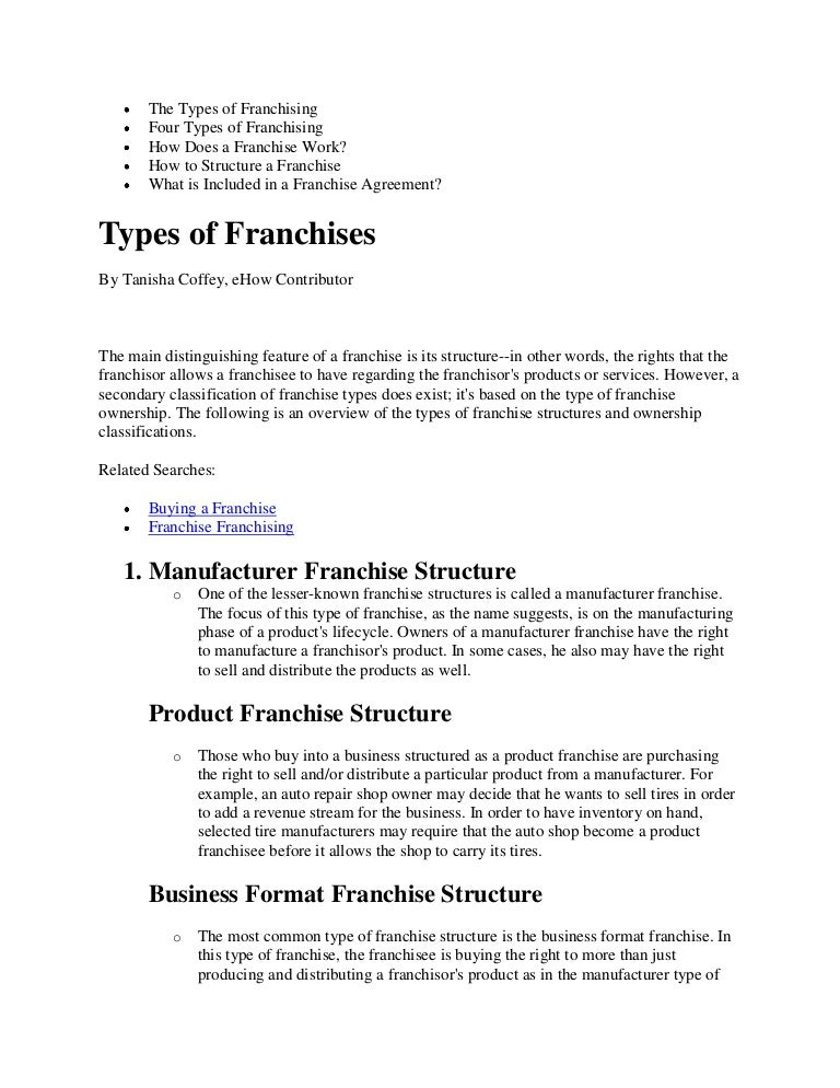 Sample Franchise Agreements. Non Disclosure Agreement Template