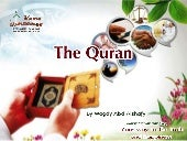 The uhniqueness of quran