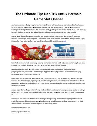 slot game online asia