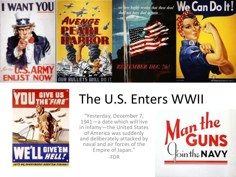 why the us entered wwii essay Situations that caused the united states to enter wwi were taken into consideration when the neutrality acts were passed why doesn't japan hate the us wwii japanese american internment propaganda film japanese relocation 40854.