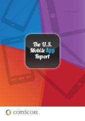 Comscore US mobile App report 2014