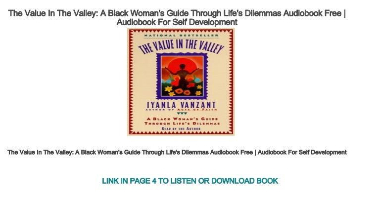 A Black Woman's Guide through Life's Dilemmas