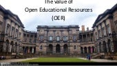 The Value of OER