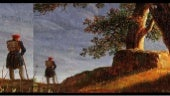 The wanderer in paintings