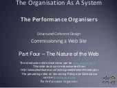 GDPR and EA - Commissioning a web site Part 4. The nature of the web