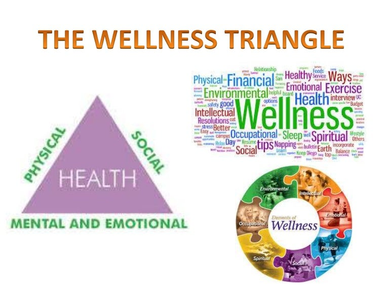 the health triangle definition