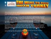 The wine to pair with turkey