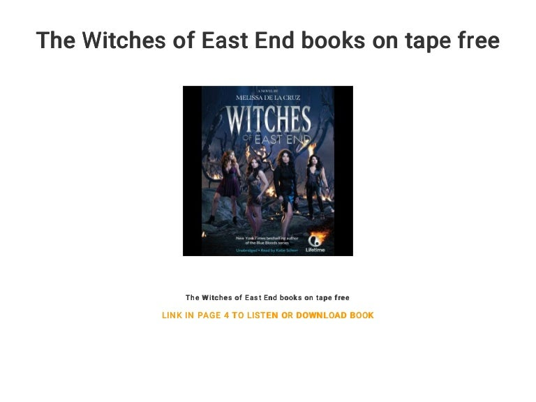 The Witches Of East End Books On Tape Free