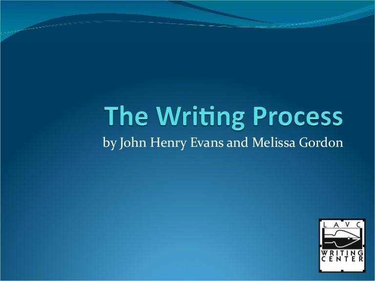 Writing process essay ppt