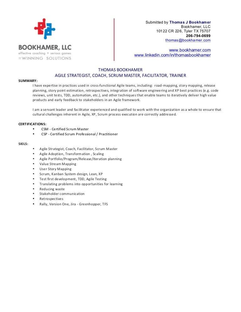 Thomas Bookhamer Resume
