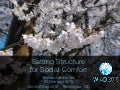 Setting Structure for Social Comfort