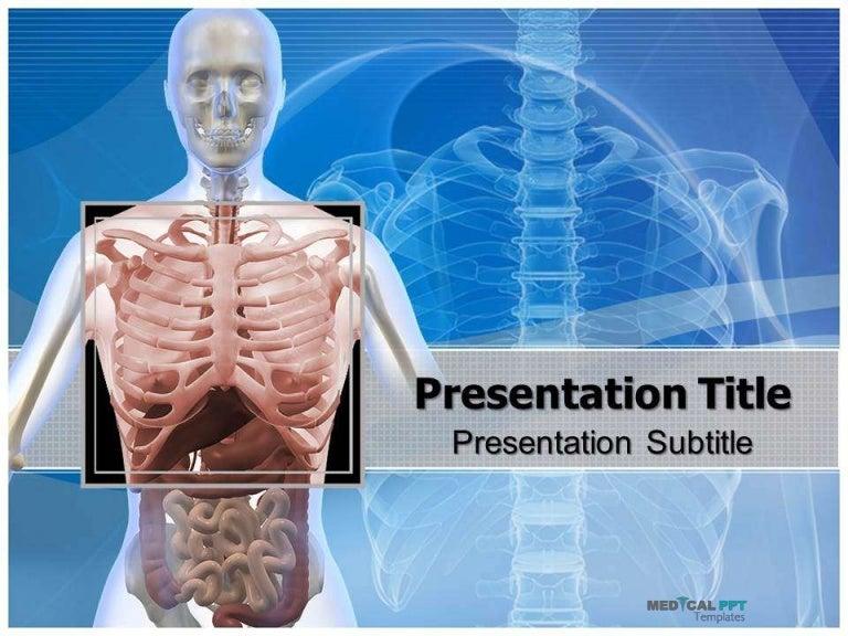 Thorax powerpoint template medicalppttemplates toneelgroepblik Gallery