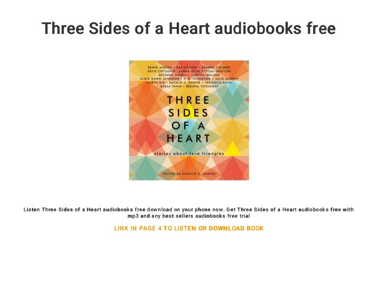 Three Sides of a Heart audiobooks free