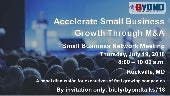 Byond M&A Talks: Accelerate Small Business Growth Through M&A