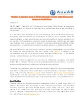 Thuridion & Aujas Join Hands to Market Information Security & Risk Management Services to Credit Unions