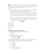 Bài tập môn Kinh tế vi mô có lời giải