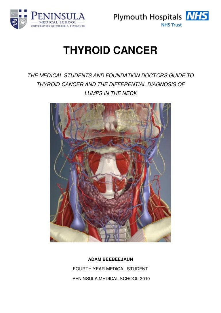 Thyroid Cancer Differential Diagnosis Of Lumps In Neck For Medical
