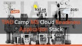 Application Stack - TIAD Camp Microsoft Cloud Readiness