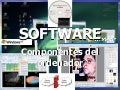 Tic 06 Componentes del ordenador SOFTWARE
