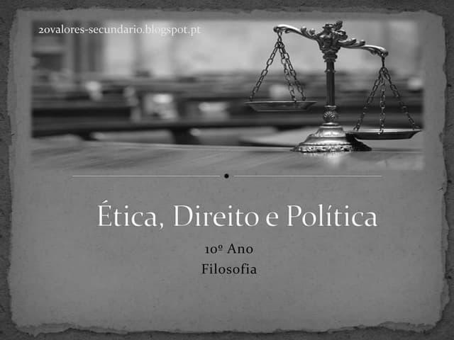 Ética, Direito e Política (Teoria da Justiça de Rawls)