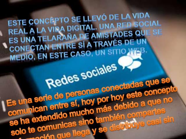 TIC REDES SOCIALES