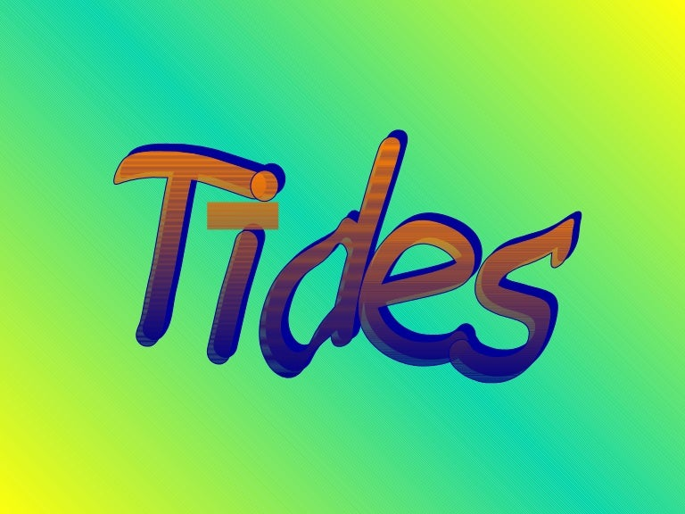 Tides notes ppt sciox Image collections