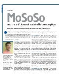 MoSoSo and the shift towards collaborative consumption