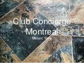 Mosaic Tiling Montreal