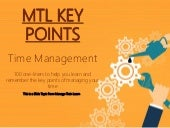 Key Points: Time Management