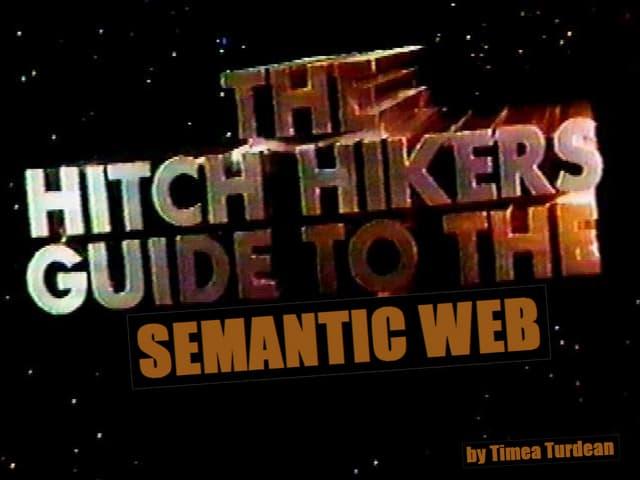 Intro to Semantic Web