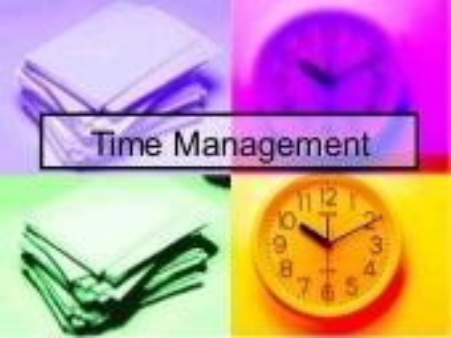 Time Management Leaders Workshop