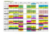 Timetable April - 7th May 2016