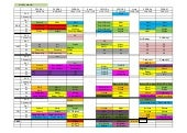 Timetable from 7th may 2016