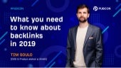 What you need to know about backlinks in 2019