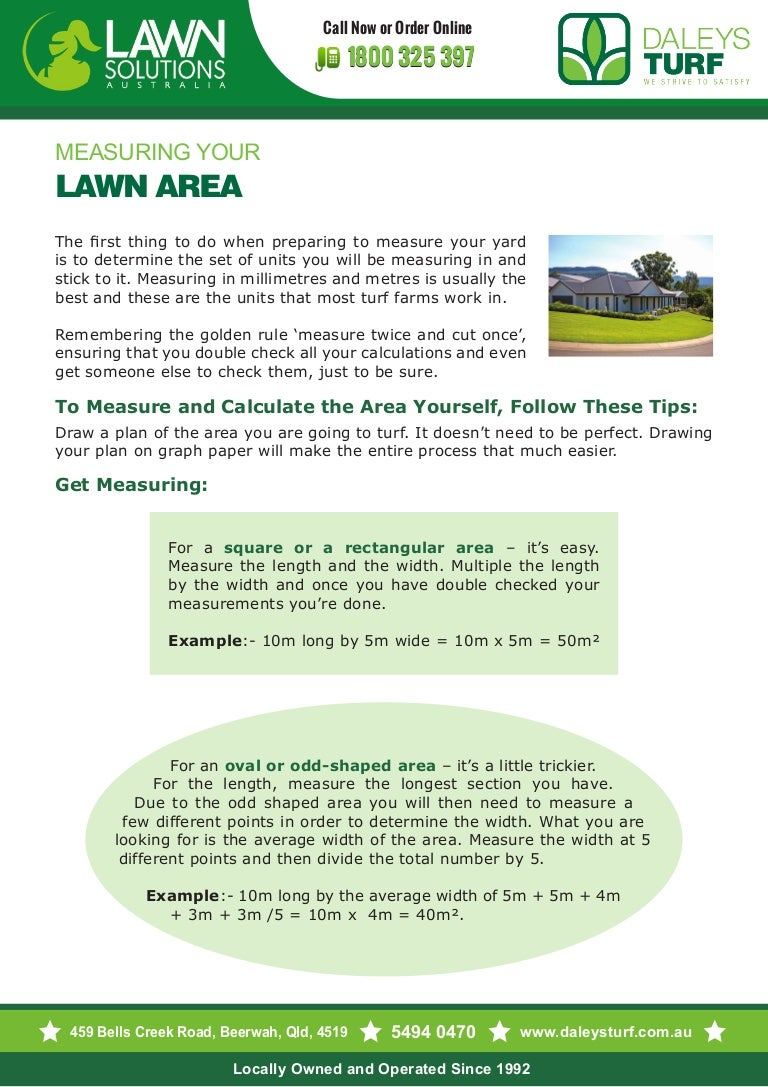 Tips measuring-your-lawn-area-yourself