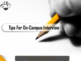 Tips for Campus Interviews