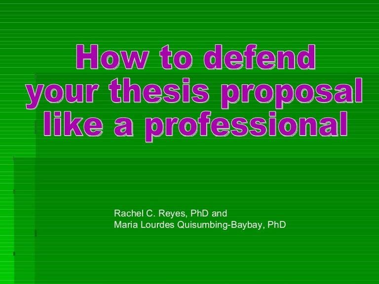 how do you defend your dissertation Menu &#9776