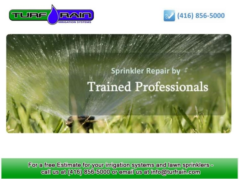 Tips On How To Winterize Your Lawn Sprinkler System