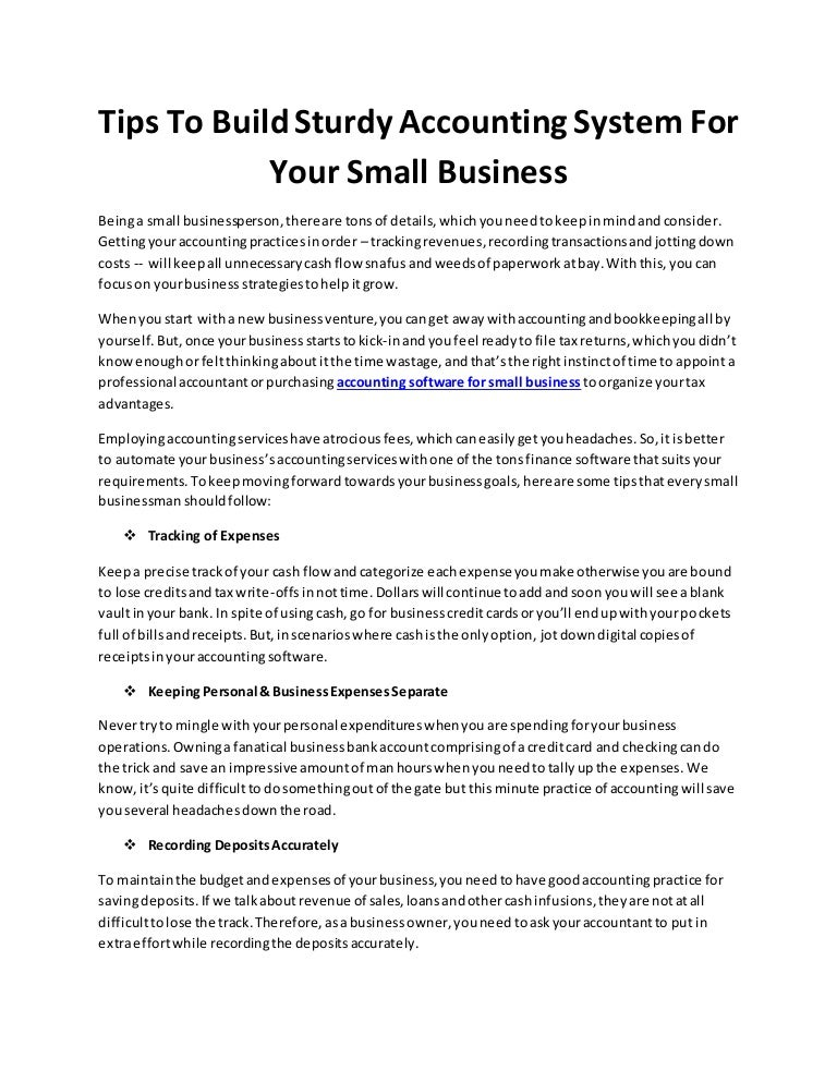 Tips to build sturdy accounting system for your small busines colourmoves