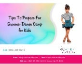 Tips To Prepare For Summer Dance Camp for Kids