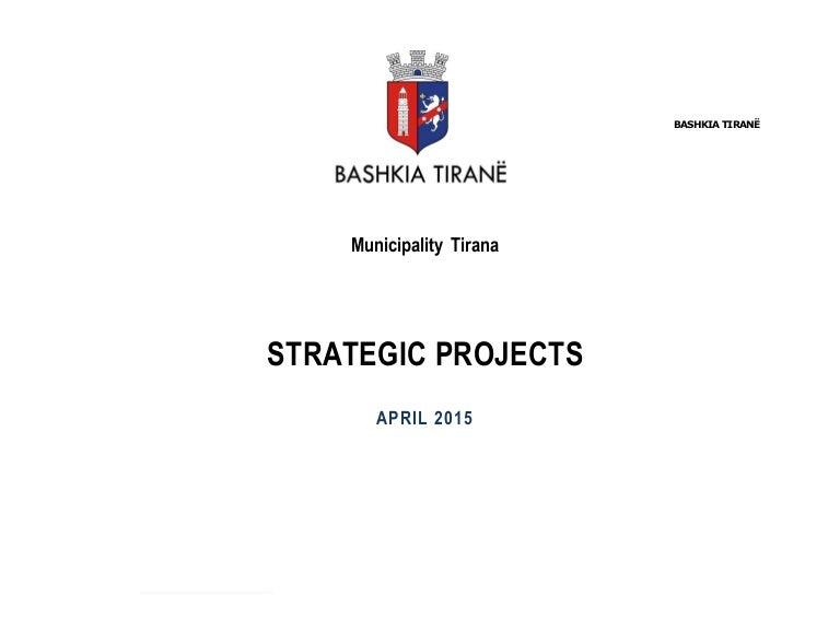 Capital Summit 2015: Tirana - Strategic Projects